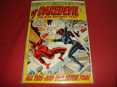 DAREDEVIL #83  Black Widow Bronze Age Marvel Comics 1972 GD