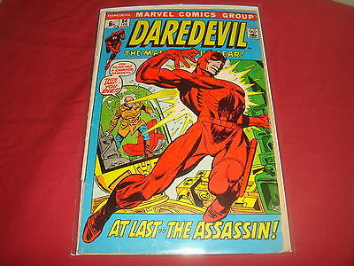 DAREDEVIL #84  Black Widow Bronze Age Marvel Comics 1972 VG