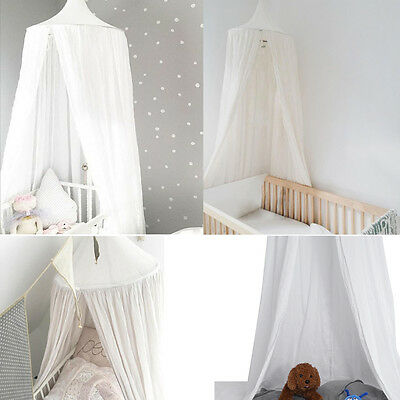 Kids Baby Children Mosquito Net Netting Canopy for Nursery Crib Bed Cot Canopy