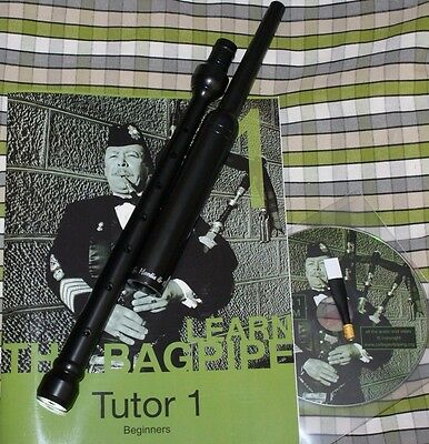 Anfänger buch College of Piping lernen highland dudelsack practice chanter reed