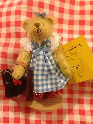 Deb Canham Limited Edition Dorothy Wizard Of Oz Bear Rare Ruby Slippers Boxed