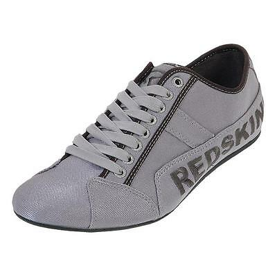 Chaussures basses toile  Redskins Tempo argent canvas Gris 85166 - Neuf