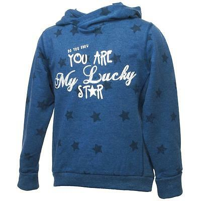 Sweat Name it Kaya blue cap sweat girl Bleu 69115 - Neuf