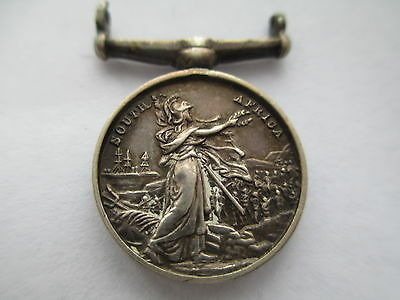 Queen's South Africa Medal. Miniature. Contemporary to period.