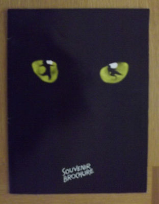 "Andrew Lloyd Webber's ""Cats"" The Musical Official Programme 1989"