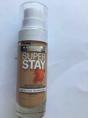 NEW Maybelline SuperStay24H Liquid Foundation 040 Fawn 30ml