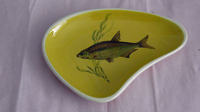 Sandygate Pottery Fish Decorated Pin Dish