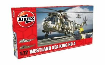 Airfix Plastic Model Kit - Westland Sea King HC.4 Helicopter - 1:72 - A04056
