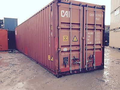 40ft High cube shipping container - Liverpool
