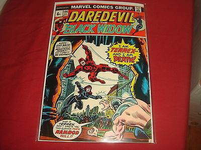 DAREDEVIL AND THE BLACK WIDOW #106   Bronze Age Marvel Comics 1973 FN