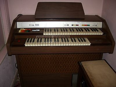 Siel Hb700 Electric Organ - Keyboard
