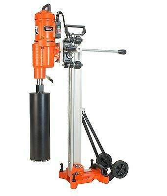 """Cayken 10"""" Diamond Core Drill Rig With 5.8 HP Motor For Wet Or Dry Drilling"""