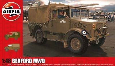 Airfix Plastic Model Kit - Bedford MWD Wartime Truck - 1:48 Scale - A03313 - New