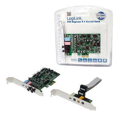 LogiLink PCI-Express 7.1 Sound Card ® # PC0076