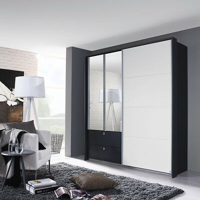 wei hochglanz mit spiegel perfect badmbelset alice wei. Black Bedroom Furniture Sets. Home Design Ideas
