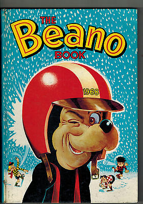 BEANO ANNUAL 1968 from Beano Comic  -  unclipped no inscription