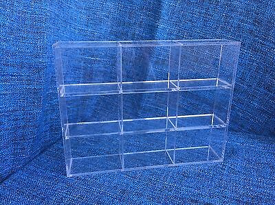 Small Perspex MUJI Display Cabinet Collector 27x35cm