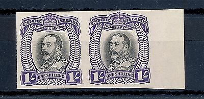 Cook Island Sg 105 1932 Gv 1/-  Plate Proof  Mnh