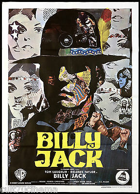 Billy Jack Manifesto Cinema Film Iaia Tom Laughlin Action 1971 Movie Poster 2F