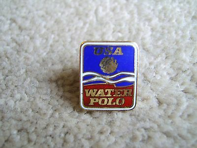 USA Water Polo metal and enamel badge / pin, possibly Olympic Games related