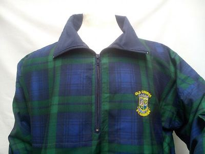 Men's Scottish Black Watch Tartan Jacket St Andrews Old Course - Golf,Gift S-2XL