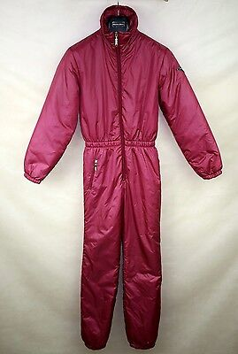 RODEO VINTAGE RETRO WOMENS SKI SUIT ONE PIECE size 176 CHEST- 92CM/ 36 INCH