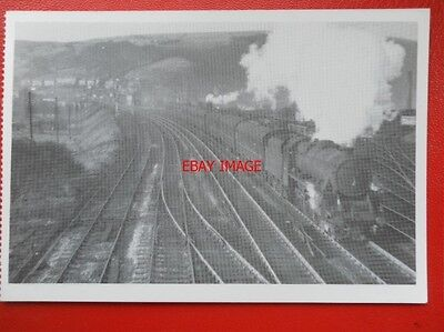Postcard Lms 44928 Storms Out Of Lancs For Todmorden 1961
