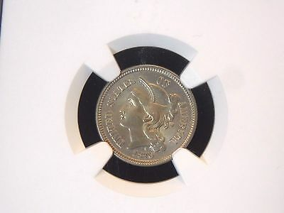 1870 3 Cent Nickel 3CN NGC AU Details   East Coast Coin & Collectables, Inc.