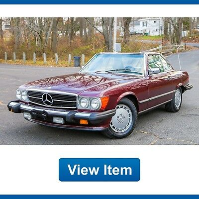 1988 Mercedes-Benz SL-Class Base Convertible 2-Door 1988 Mercedes 560SL 1Owner Hard and SOFT Top Super Low 67K CARFAX Collectible