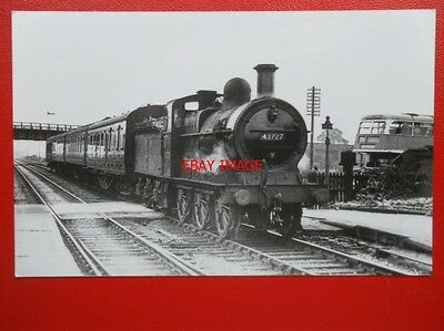 Photo  Lms Ex Midland Rly Class 1873 Loco No 43727 At Linby 1954