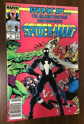 WHAT IF #4 -- The Alien Costume Had Possessed Spider-Man