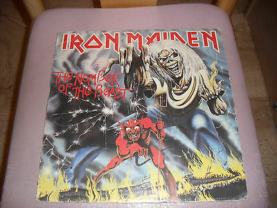 Iron Maiden - The number of the beast Lp First Press 1982