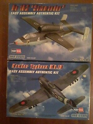 1/72 scale model aircraft X 2.