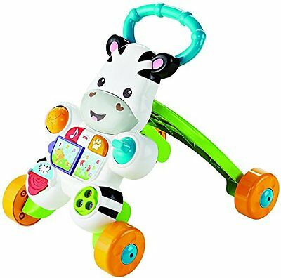 Fisher-Price - DLD96 - Mon Trotteur Zèbre Parlant NEW