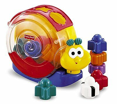 Fisher-Price Escargot musical animablocs NEW