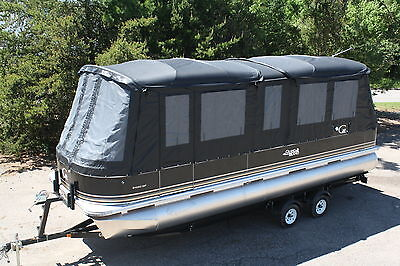 New 24  fish and fun Grand Island pontoon boat with full camper