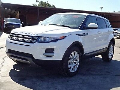 2015 Land Rover Evoque Pure 2015 Land Rover Evoque Pure Damaged Salvage Only 3K Miles Loaded w Options L@@K!