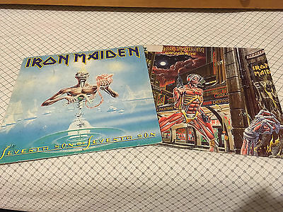 Iron Maiden - Seventh son of a seventh son + Somewhere in time Lp