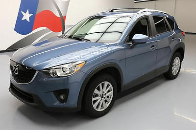 2014 Mazda CX-5  2014 MAZDA CX-5 TOURING AWD REARVIEW CAM ROOF RACK 34K #408930 Texas Direct Auto