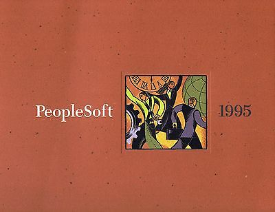 PeopleSoft annual report 1995
