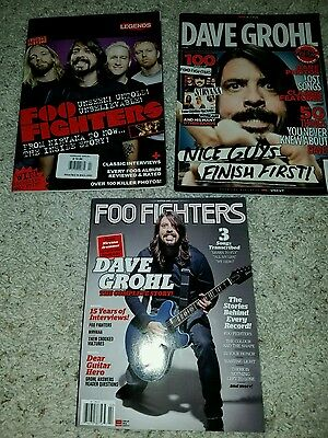 Foo Fighters magazines Kerrang Guitar one NME special rare collection