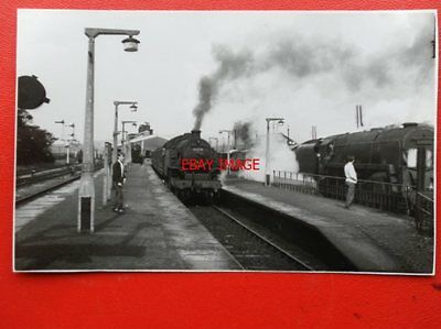 Photo  Lms Class 4P Loco No 42278 At Hellifield 5/60