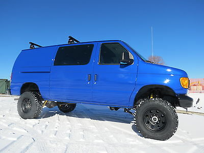 2005 Ford E-Series Van New Everything Custom Built Van 4x4 Conversion V8 2005 Ford E-250 4x4 Conversion Van Extensive Build New Everything Insulated 4WD