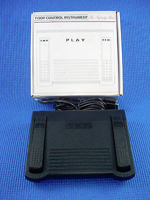 The Infinity Series Transcriber Dictation Foot Control Pedal IN-DB9 NEW