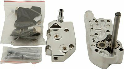 HardDrive Motorcycle Billet Oil Pump For Harley-Davidson Chrome 301497