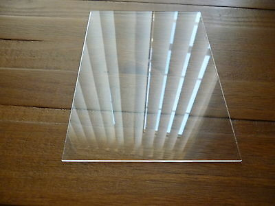 Perspex A6 acrylic 3mm clear sheet