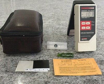 Victoreen Nuclear Associates Clamshell Densitometer Model 07-443 W/case (143)