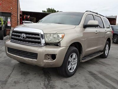 2008 Toyota Sequoia 4WD 2008 Toyota Sequoia 4WD Damage Salvage Repairable Perfect Project Wont Last L@@K