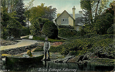Vintage Postcard Dinis Cottage Killarney County Kerry Ireland