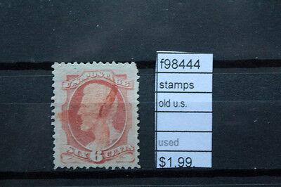 Stamps Old U.s. Used (F98444)